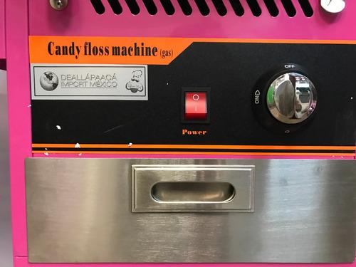 maquina algodón de azúcar gas comercial, envío gratis