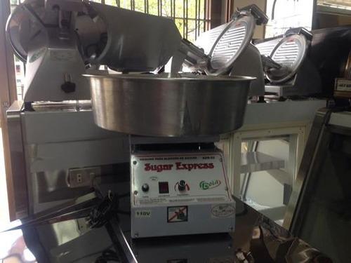 maquina algodon de azucar industrial marca iboia ( brasil )
