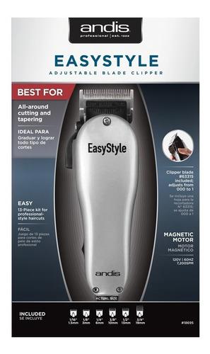 maquina andis easystyle barberia  12 piezas , 7.200 spm