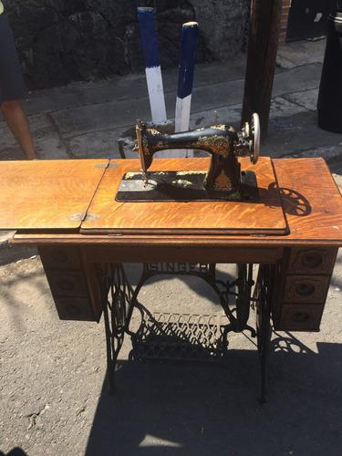 maquina antigua singer