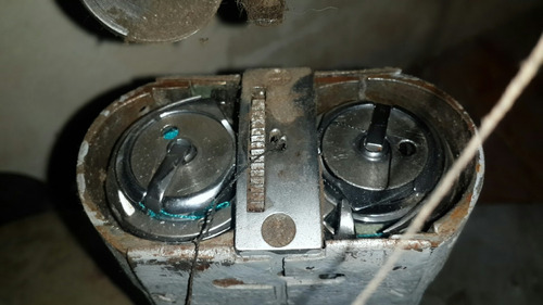 máquina aparado doble arrastre