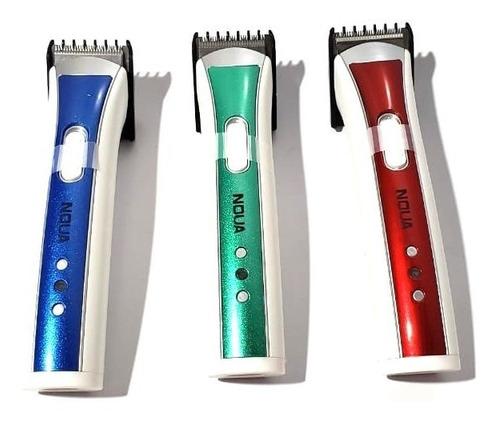 máquina aparador cortar pelos cabelo barba pezinho noua