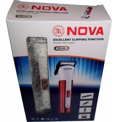 maquina aparador elétrico nova nhc bivolt perna barba aeio@