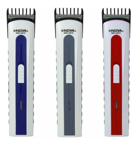 máquina aparador pelo corta cabelo barba pezinh recarregável
