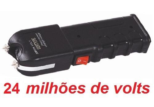 máquina aparelho de choque defesa pessoal 24.000kv