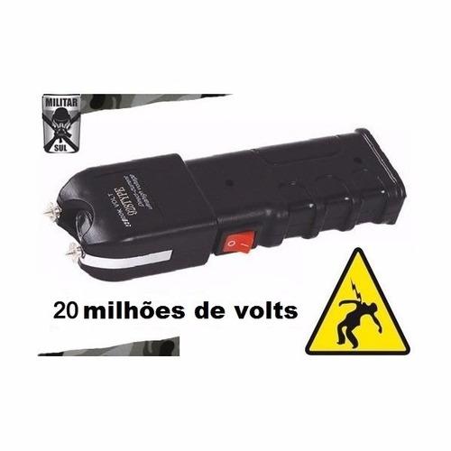 máquina aparelho de choque defesa pessoal 28.000vts
