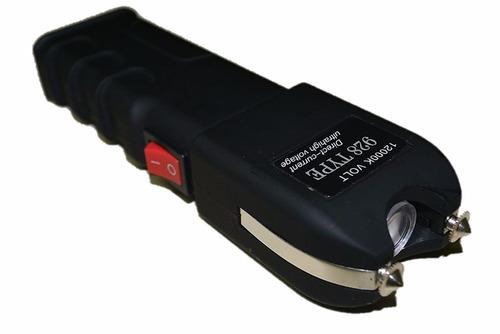 máquina aparelho de choque defesa pessoal taser 12000kv