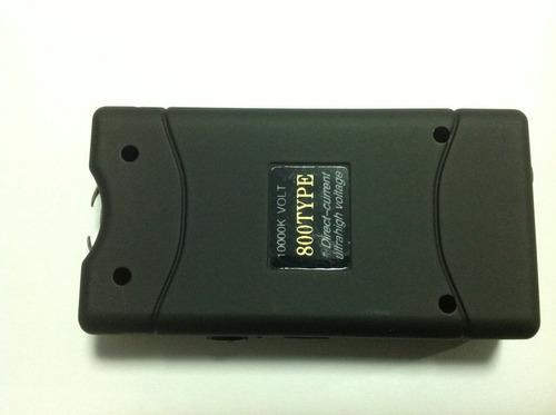 máquina aparelho de choque e lanterna defesa pessoal 36000kv