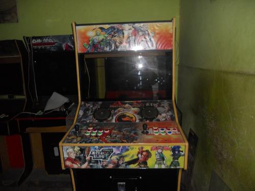 maquina arcade mueble multijuegos