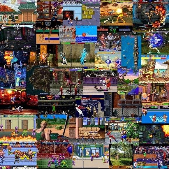 Maquina Arcade Multijuegos Retro Neo Geo Snes 2 Jugadores S 785