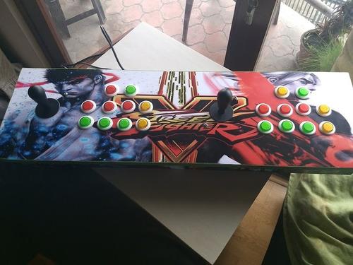 maquina arcade multijuegos retro neo geo snes  2 jugadores