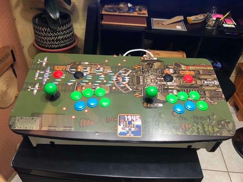 máquina arcade, panel raspberry