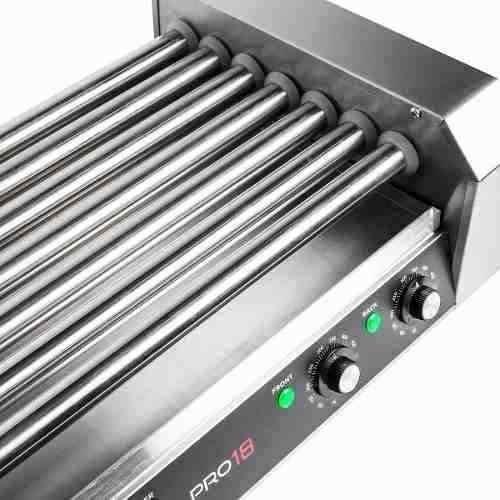 maquina asador perros calientes 18 salchichas  900-watt