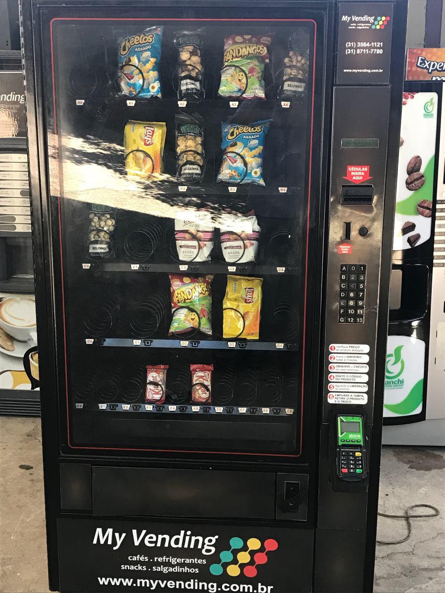 ae1bb670061 maquina automatica de salgadinhos. snacks. Carregando zoom.
