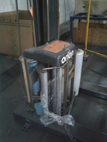 maquina automatica orion para emplayar tarimas