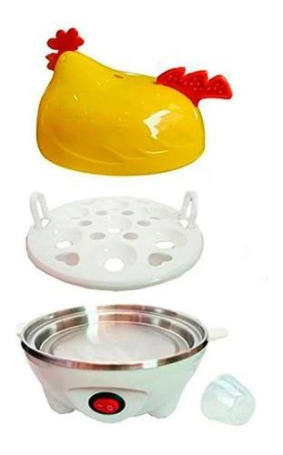 maquina automatica  para cocinar huevos al vapor