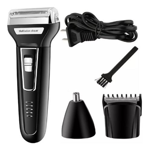 maquina barbeadora 3 in1 com aparador de pelos nariz e ouvido barbeador e pezinho novidade para depilação intima + macia