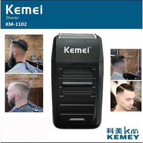 Maquina Barbear Eletrica Shaver Kemei Recarregavel 110-240v Profissional A Queridinha Dos Barbeiros Frete Gratis Cordles