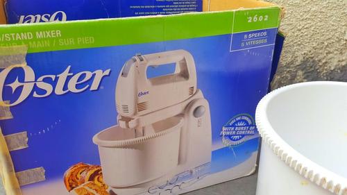 maquina batidora panadera respostera oster 2602 blanca