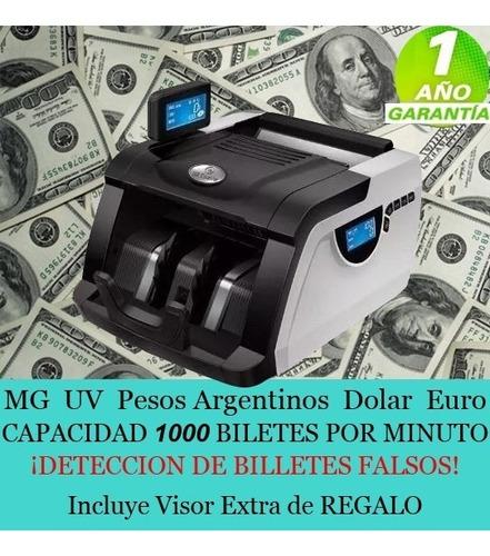maquina billetes detector
