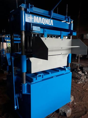 maquina bloquera desmoldeo automatico