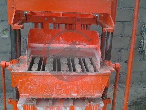 maquina bloquera manual 5 piezas