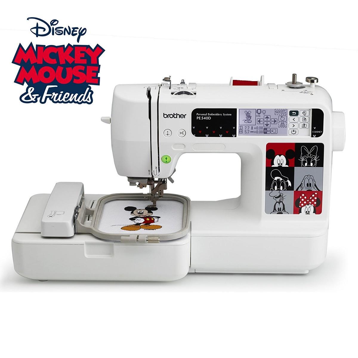 Máquina Bordado Brother Pe540d 4x4 35 diseños De Disney - $ 1.798 ...