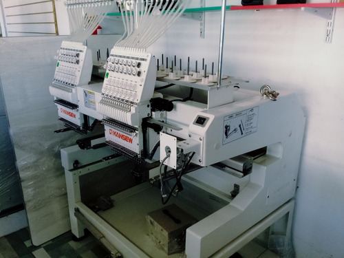 máquina bordadora 2 cabezas industrial