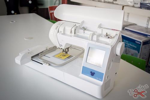 máquina bordadora brother pe 780 d pe780d + bastidor 13x30cm