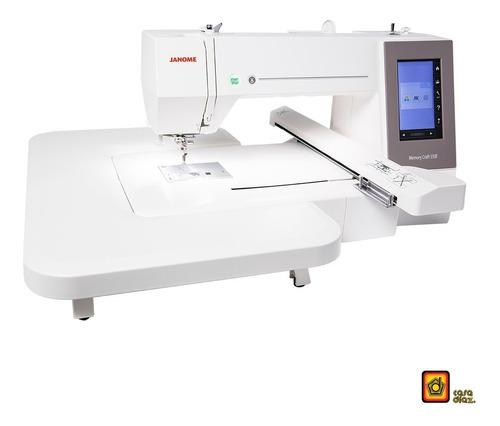 máquina bordadora doméstica janome mc550e memory craft