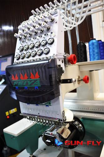 maquina bordadora feiya 1 cabeza 12 hilos garantia 1 año
