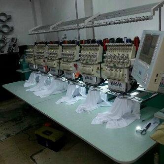 maquina bordadora industrial 6 cabezales