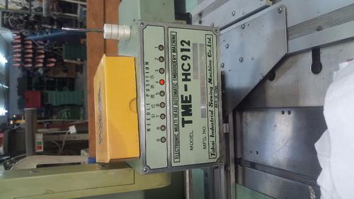 maquina bordadora tajima 9-12 para bordar piel o textil