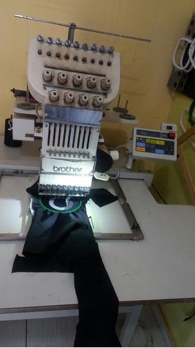 maquina bordados brother 1 cabeca 9 agulhas