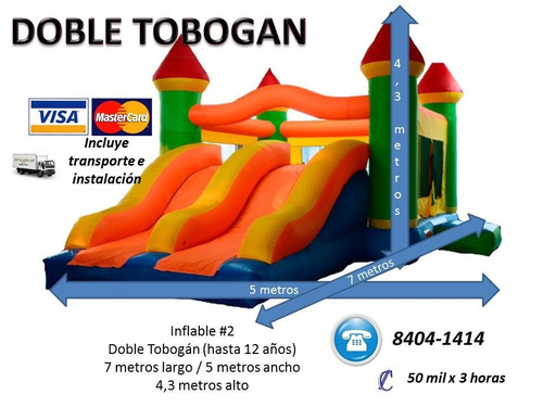 maquina burbuja con inflable promo herediana