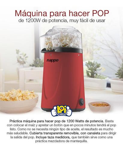 maquina cabritas popcorn nappo loi chile
