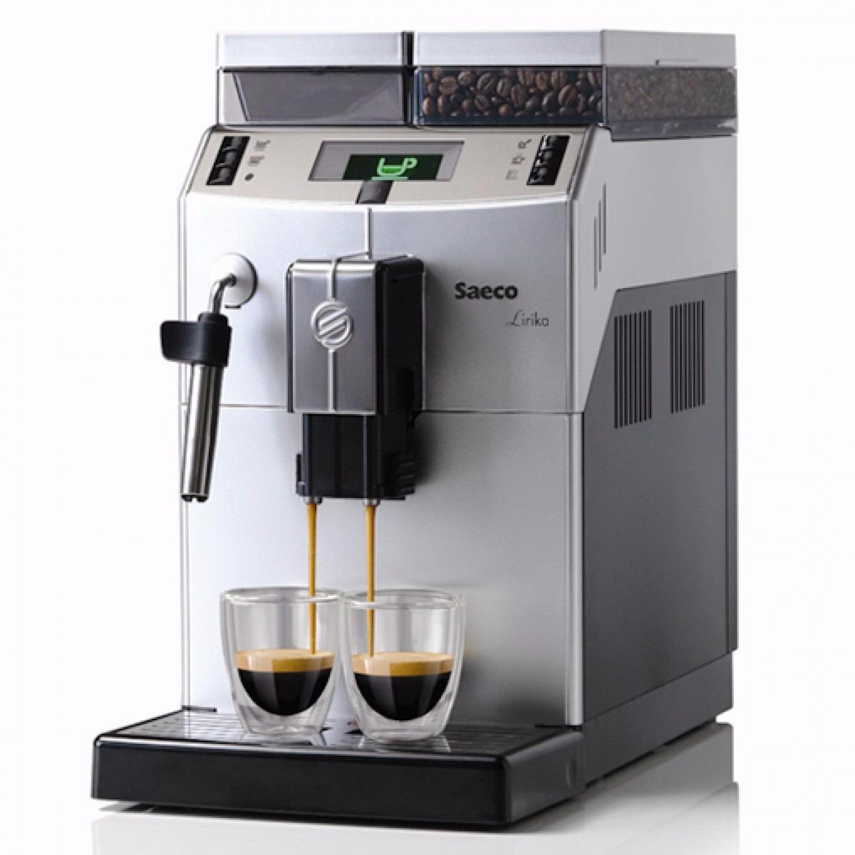 maquina caf expresso italiana autom tica saeco lirika r em mercado livre. Black Bedroom Furniture Sets. Home Design Ideas