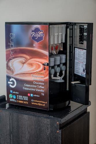 máquina café nueva, con $66.000 en insumos + calibración