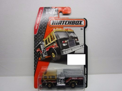 maquina camion bomberos bombero coleccion matchbox 7cm