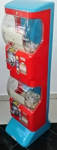 maquina capsulera tomy panda vending 2 pulgadas expendedora