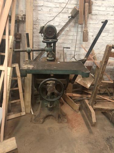 maquina carpinteria barreno madera