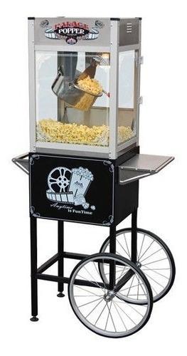 maquina carrito palomitas maiz 16oz comercio eventos fiestas