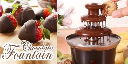 máquina cascada fondue chocolate 3 pisos/eshopviña