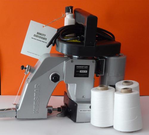 maquina cerradora, cosedora sacos o costales keestar