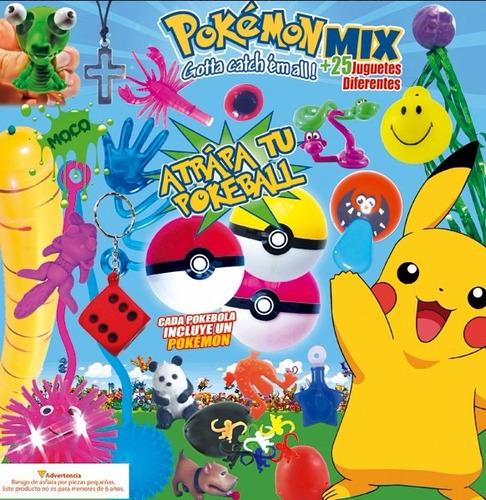 maquina chiclera 2 pulgadas 200 juguetes pokemon mix $10