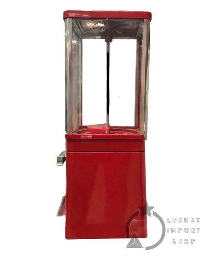 máquina chiclera eagle dispensadora dulces con base
