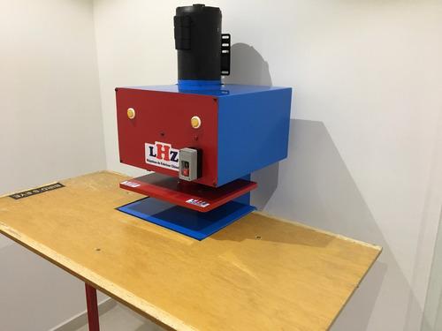 maquina chinelo automatica corte par qualidade e rapidez lhz