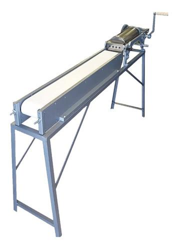 maquina churrera 6 kg 4 bocas con cinta y caballete churros