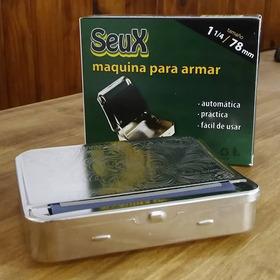 Maquina Cigarrera P Armar Cigarrillos Automatica 78mm Seux