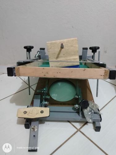 máquina cilíndrica nova + acessórios
